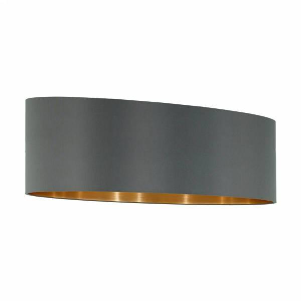 Shade f.Pendant luminaire Pasteri Pro 2x60W cappuccino/gold