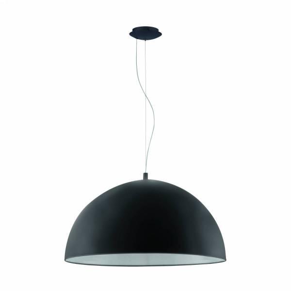 """Pendant luminaire """"Gaetano"""" 60W black IP20"""