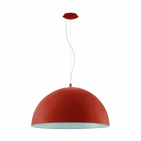 "Pendant luminaire ""Gaetano"" 60W orange IP20"