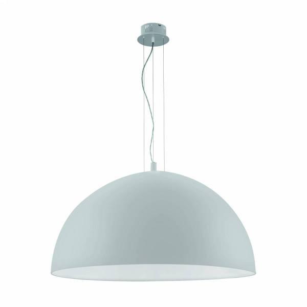 "Pendant luminaire ""Gaetano"" 3 x 60W silver IP20"