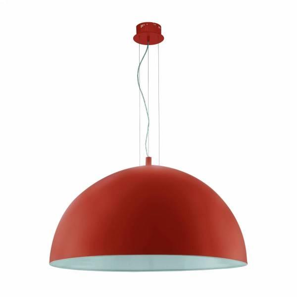 """Pendant luminaire """"Gaetano"""" 3 x 60W orange IP20"""