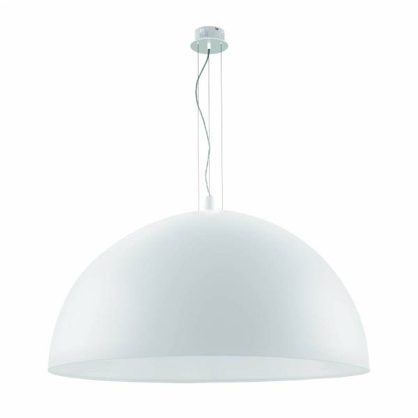 "Pendant luminaire ""Gaetano"" 3 x 60W white IP20"
