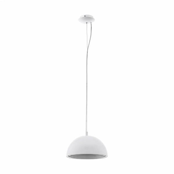 Panderas Pendant luminaire Ø350 60W white/silver IP20