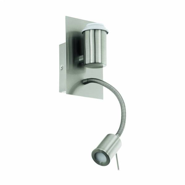 Pasteri Pro 1x40, 1X3,5W 3000K nickel-matt IP20