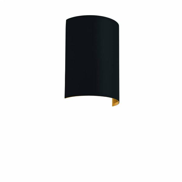 Shade semicircular for Pasteri Pro black gold
