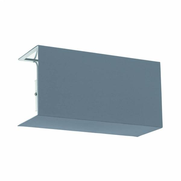 Shade square zu Wall luminaire Pasteri Pro grey/white