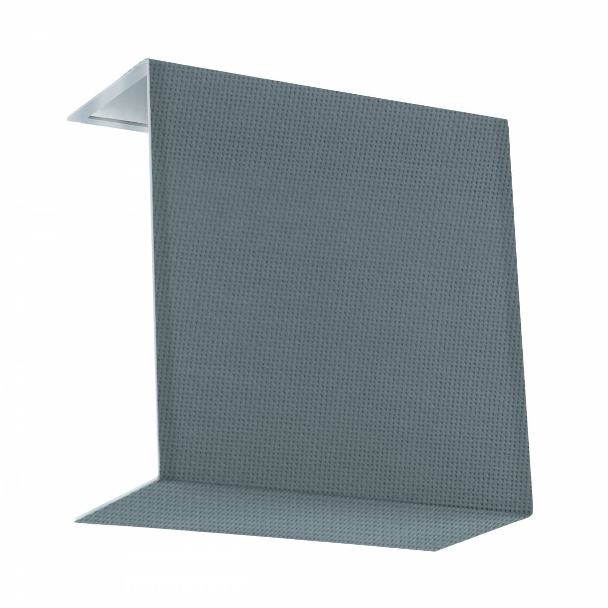 Shade square zu Wall luminaire Pasteri Pro linen grey