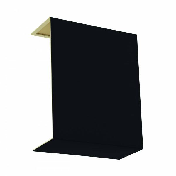 Shade square zu Wall luminaire Pasteri Pro black gold