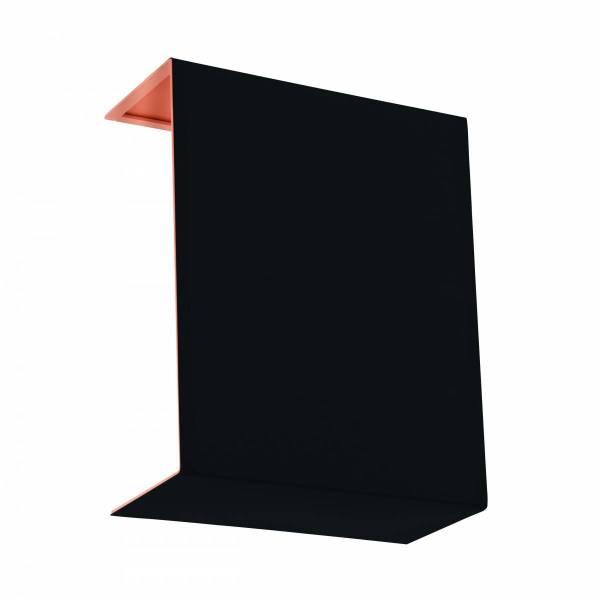 Shade square zu Wall luminaire Pasteri Pro black/copper