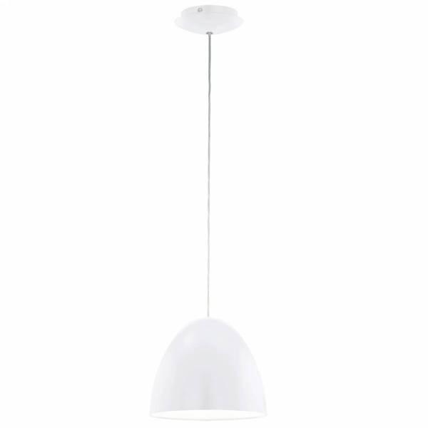 "Pendant luminaire ""Sarabia"" 60W white IP20"