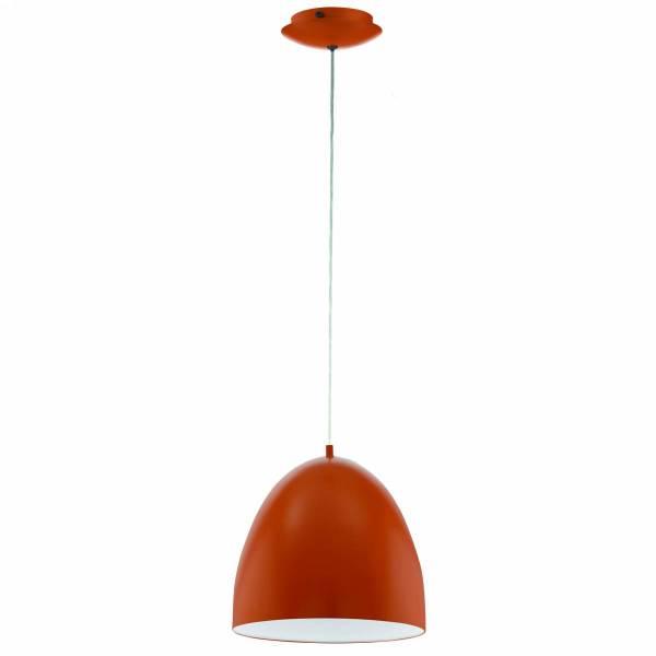 "Pendant luminaire ""Sarabia"" 60W orange IP20"