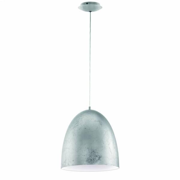 "Pendant luminaire ""Sarabia"" 60W silver IP20"
