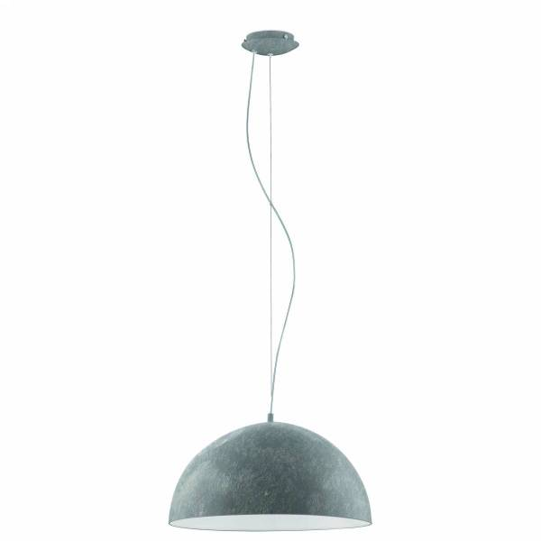 """Pendant luminaire """"Gaetano"""" 60W betongrey IP20"""