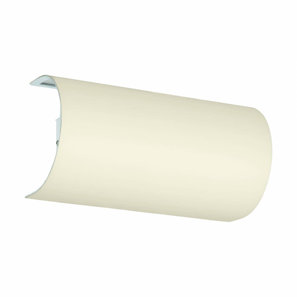 "Shade semicircular for Wall luminaire ""Pasteri Pro"" creme"