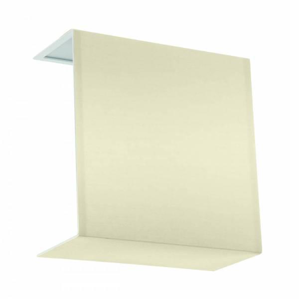 "Shade square zu Wall luminaire ""Pasteri Pro"" creme"