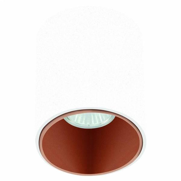"""Ceiling luminaire """"Polasso"""" round 35W white / copperIP20"""