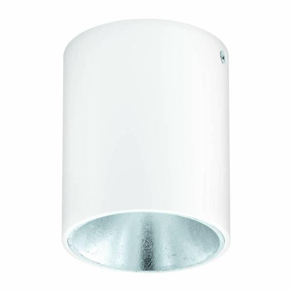 """Ceiling luminaire """"Polasso"""" round 35W white / silver IP20"""