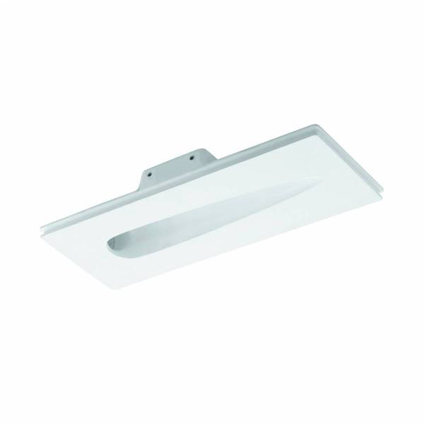 Tiberio wall recessed 1W 3000K Gips IP20