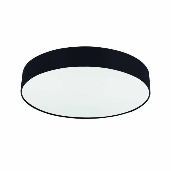 "Ceiling luminaire ""Pasteri Pro"" 3 x 60W black IP20"