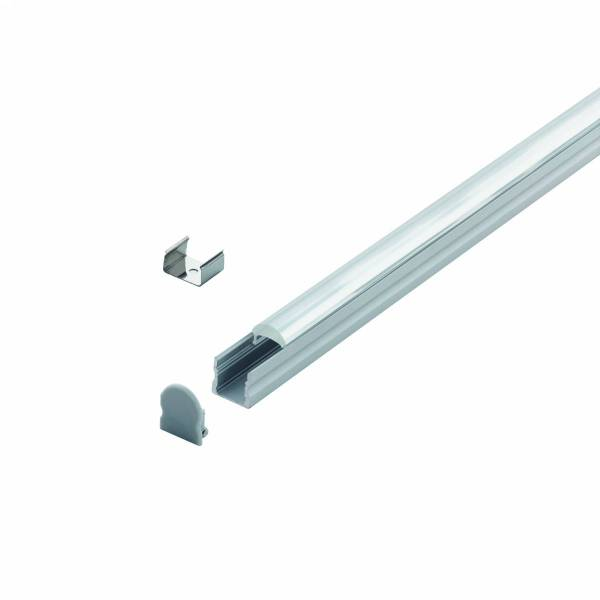 LED-Stripe Profile surface 30° Linear lens Clear cover