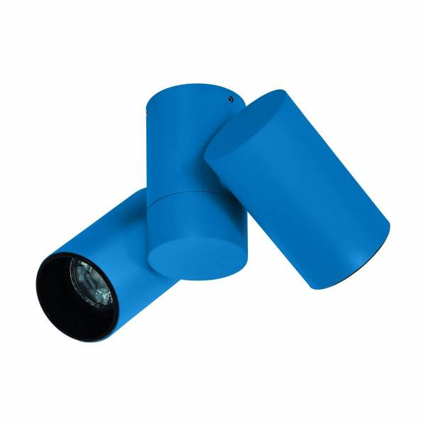 Ganzirri GU10 3er Cylinder blue (RAL 5010) IP20