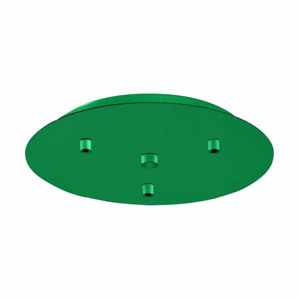 Canopy 3-fold, surface mounted opal green (RAL 6026)