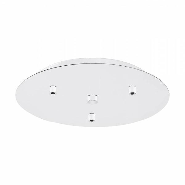 Canopy 3-fold, surface mounted white