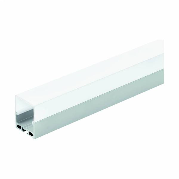 Profile DL-SCHIENE H-45MM DIFF. opal aluminium anodised