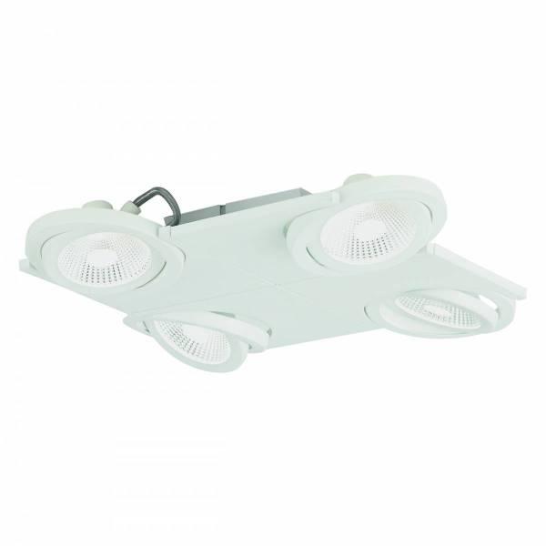 Brea Pro 4flg. 4x 9W 3000K white IP20