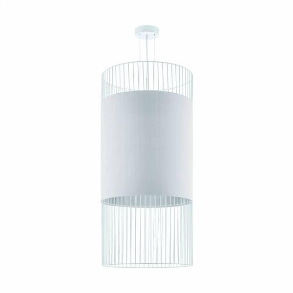 """Pendant luminaire """"Shilton"""" E27 60W white"""