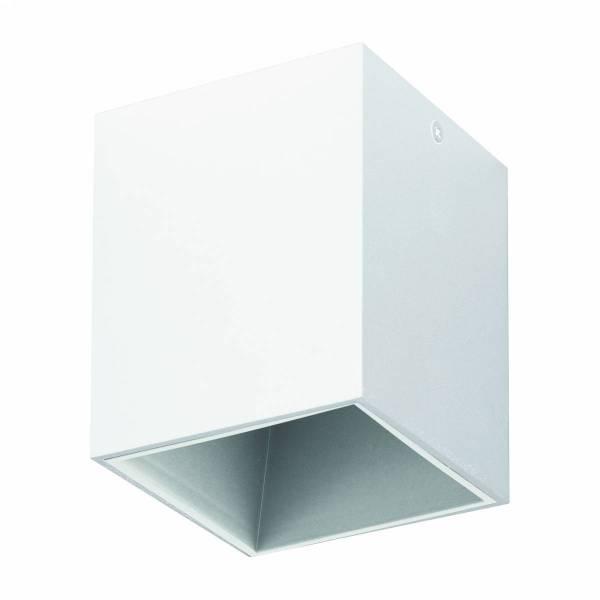 "Ceiling luminaire ""Polasso"" square 3,3W 3000K white IP20"