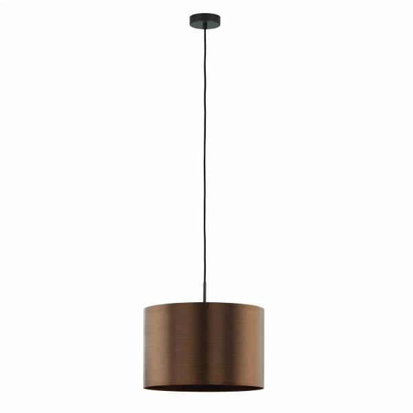 "Pendant luminaire ""Saganto Pro"" 60W brown-copperIP20"
