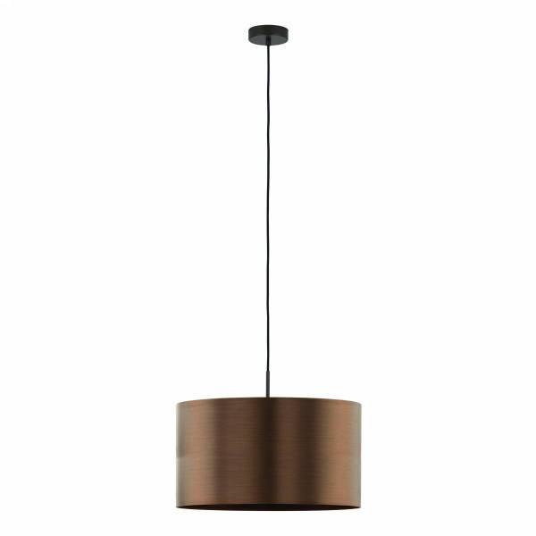 """Pendant luminaire """"Saganto Pro"""" 60W brown-copperIP20"""