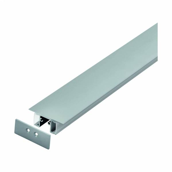 LED-Stripe Profile RE satin cover, anodized, 2000mm