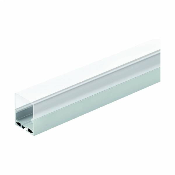LED-Stripe Profile RE satin cover, anodized, 3000mm