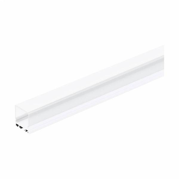 LED-Stripe Profile RE satin Cover white, 1000mm