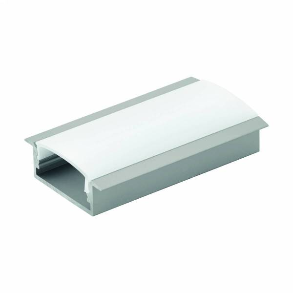 LED-Stripe Profile RE opal Abd., anodized, 2000mm