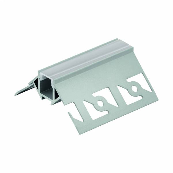 LED-Stripe TB Profile/Corner outside,cover satin, 2000mm