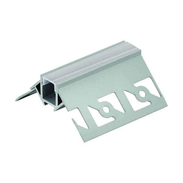 LED-Stripe TB Profile/Corner outside,cover satin, 3000mm