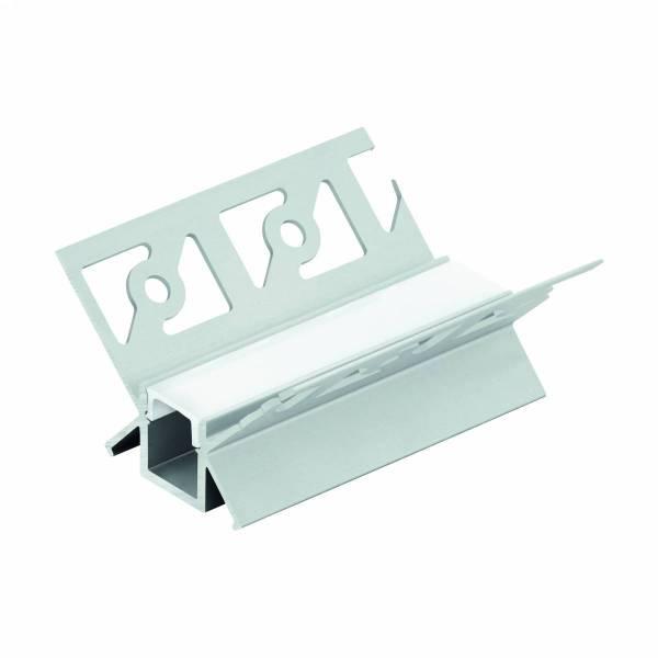 LED-Stripe TB Profile/Corner inside, cover opal, 3000mm