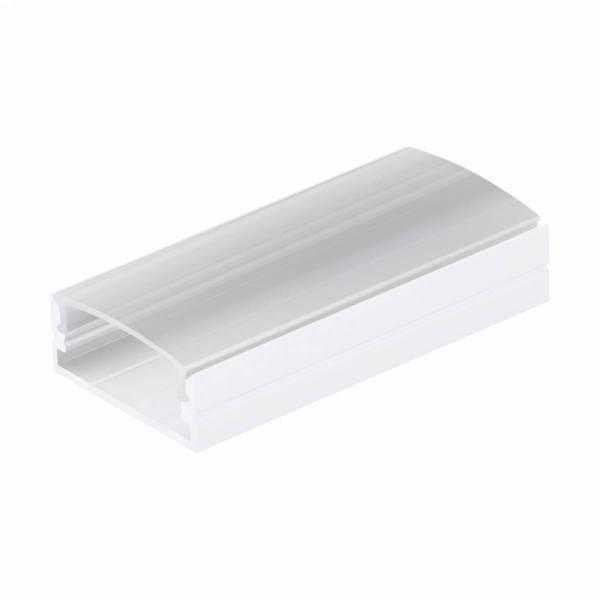 LED-Stripe Profile RE satin Cover white, 1000mm
