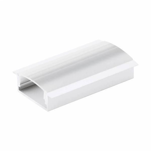 LED-Stripe Profile RE satin Cover white, 3000mm