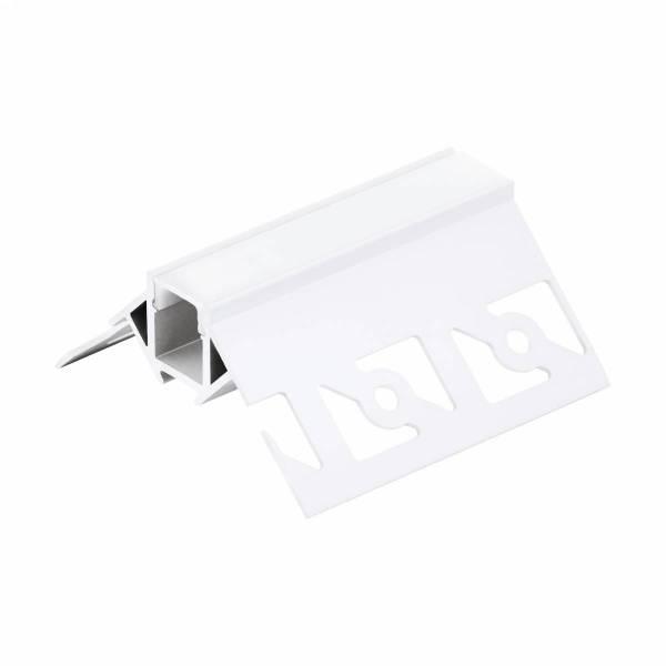 LED-Stripe TB Profile / corner outside, cover opal, 1000mm