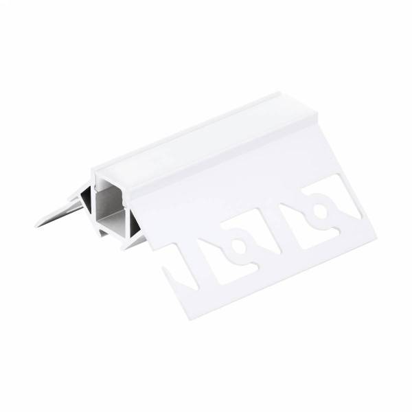 LED-Stripe TB Profile / corner outside, cover opal, 3000mm