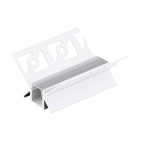 LED-Stripe TB Profile / Corner inside, Clear cover , 1000mm