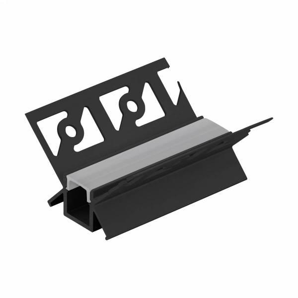 LED-Stripe TB Profile/Corner inside, Abd, satin. , 1000mm