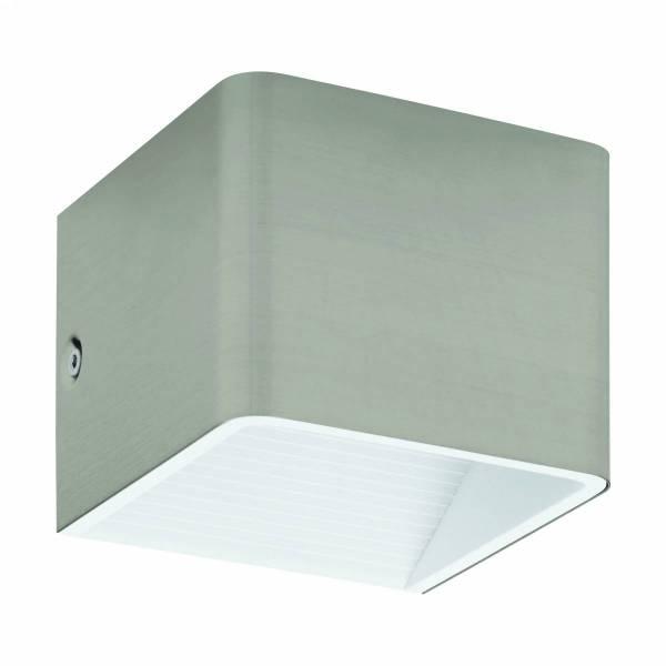 """Wall luminaire """"Sania 3"""" 5W 3000K nickel-matt/white IP20"""