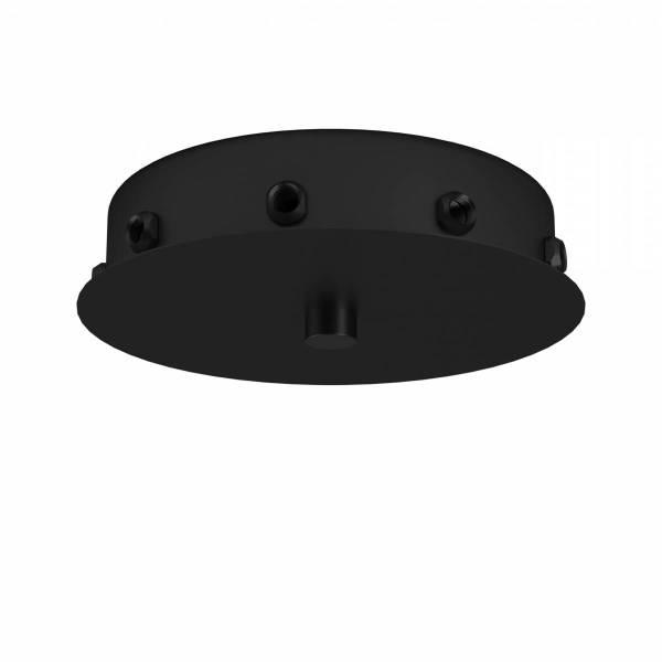 Ceiling distributors 9flg black