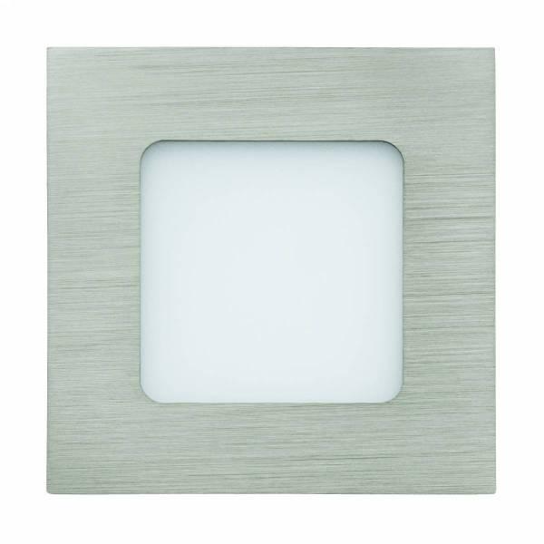 Fueva 1 square / IP20 2,7W 4000K nickel-matt IP20
