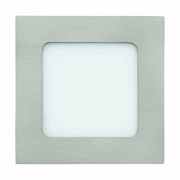 Fueva 1 square / IP20 5,5W 3000K nickel-matt IP20